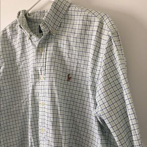 Polo by Ralph Lauren button up shirt oxford size L